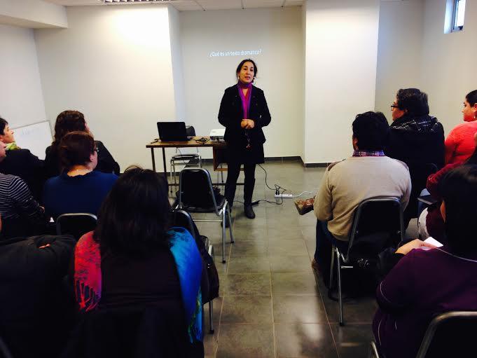 Profesores participaron en taller de guión con contenido científico