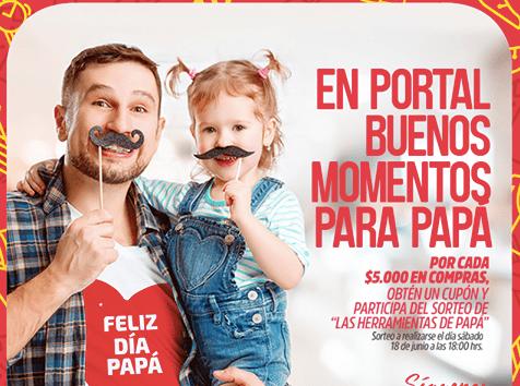 Portal Centro celebrará el Día del Papá sorteando nueve pack de herramientas de construcción