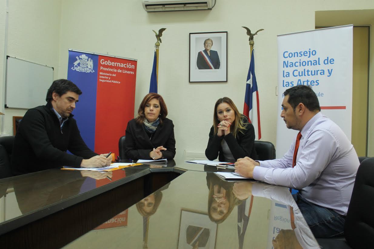 En Linares se desarrollará programa que promueve la creatividad de niños, niñas y jóvenes