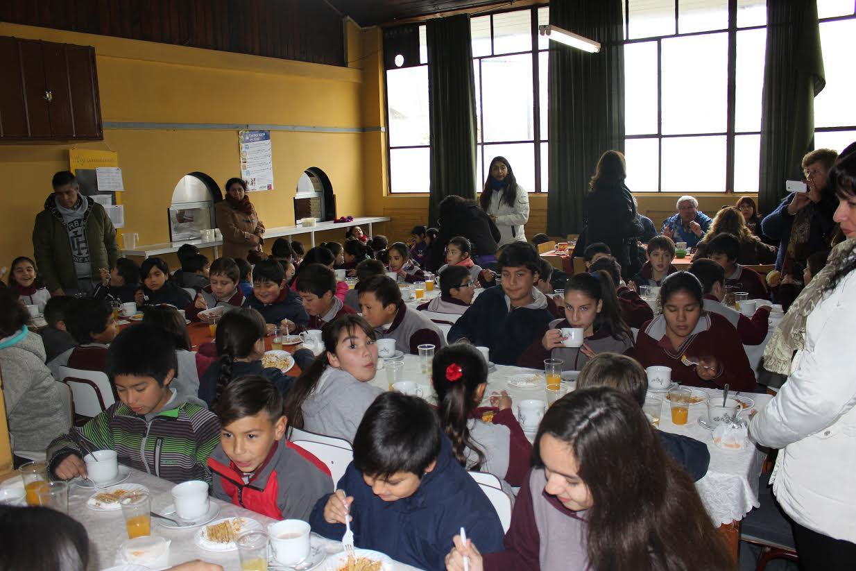 En Cauquenes ofrecen desayuno a mejores puntajes simce de sectores rurales