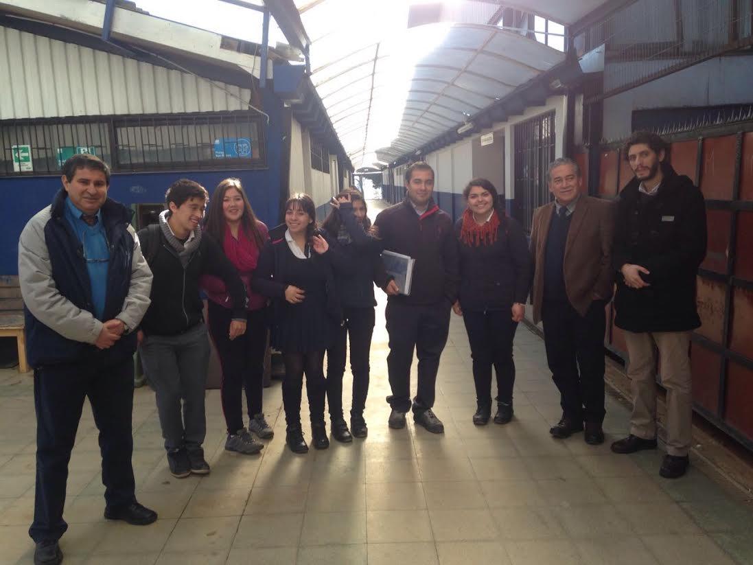 Colegios Pedro Aguirre Cerda de Cauquenes cuenta con calefacción con fondos SEP