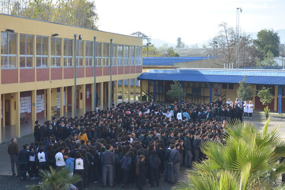 Alumnos de la Red Educativa Municipal Participaron de Simulacro