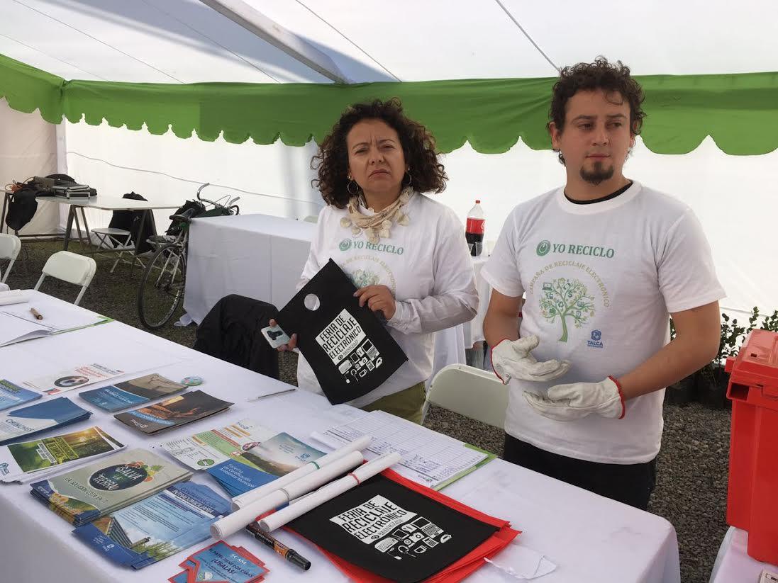 Feria del Reciclaje Electrónico reunió 20 toneladas