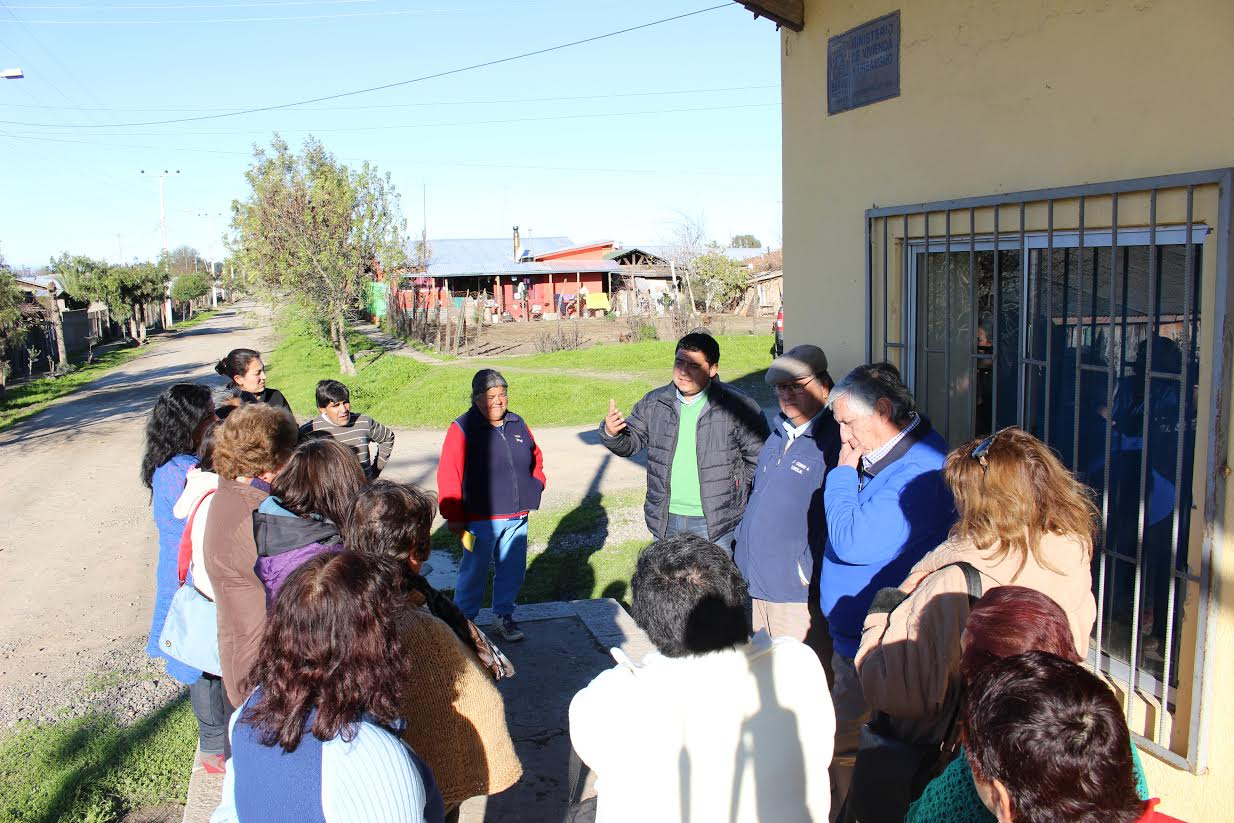 Vecinos de Quella en Cauquenes contarán con luminaria gracias a proyecto con fondos propios del municipio cauquenino