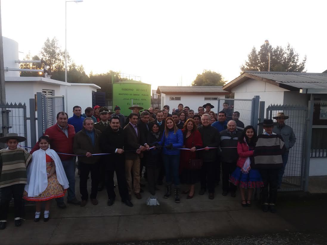MOP inaugura moderno sistema de Agua Potable en Longaví