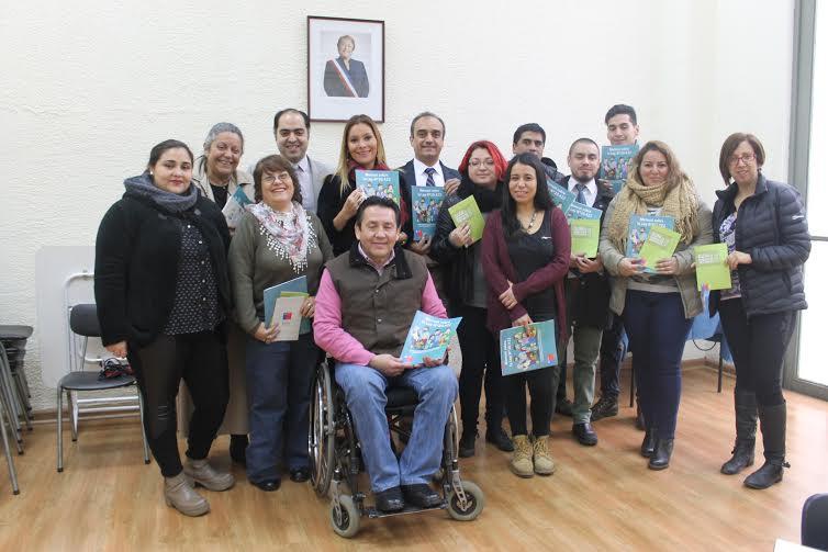 Organizaciones de la discapacidad de la Provincia de Linares conocen oferta gubernamental