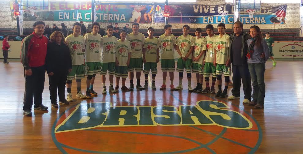 Truenos de Talca destacó en el básquetbol infantil en la Región Metropolitana