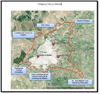 Intendencia del Maule declara alerta ambiental hoy en Talca y Maule