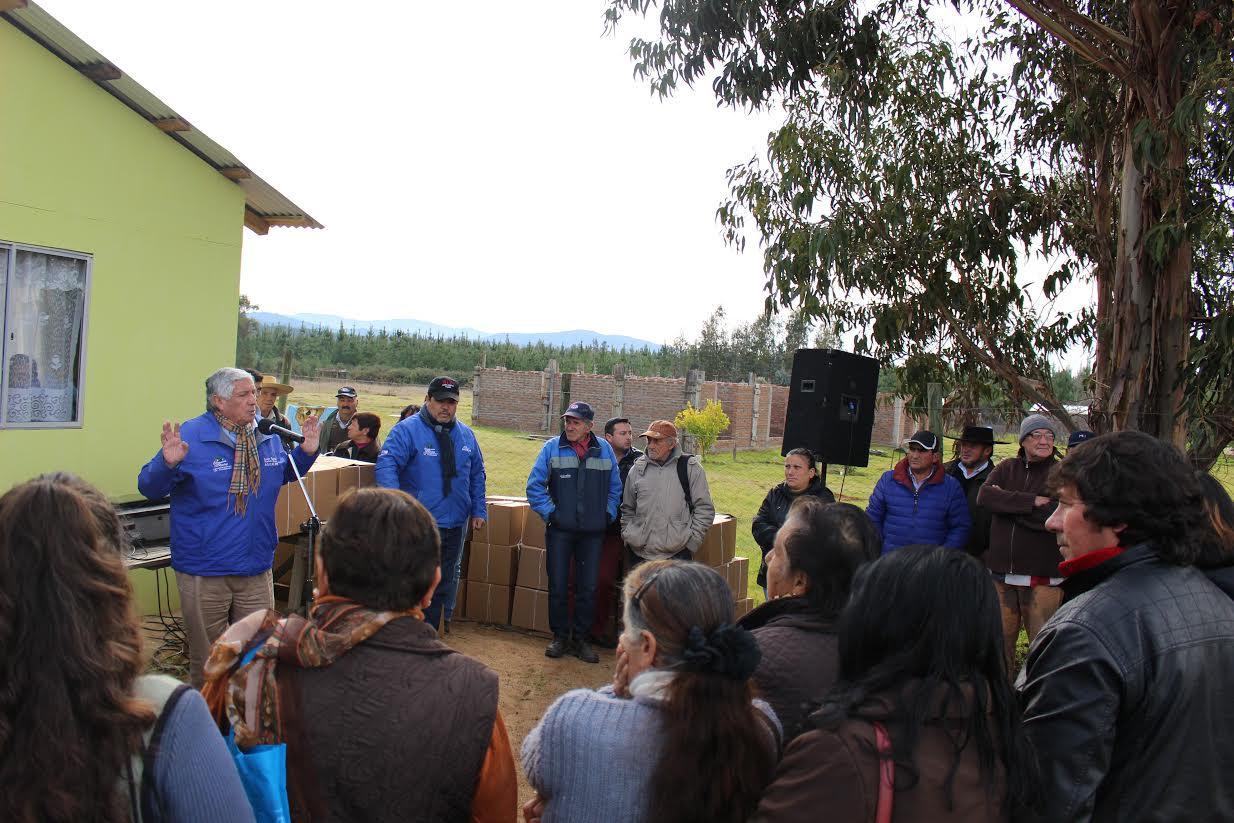 Cancha Alegre fue el centro de los operativos rurales en Cauquenes