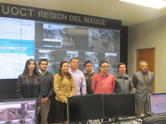 Sistema de semaforización de Talca y Curicó será adoptado por Medellín
