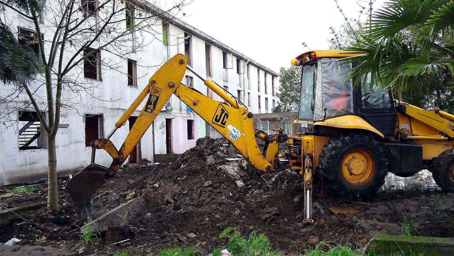 Serviu inició demolición de Villa San Josué y abre nuevas perspectivas para desarrollo del sector Santa Fe de Curicó