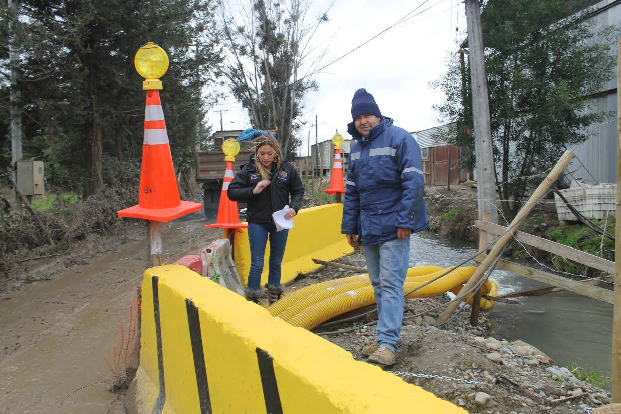 Provincia de Linares sigue con alerta temprana preventiva por frente de lluvias y viento