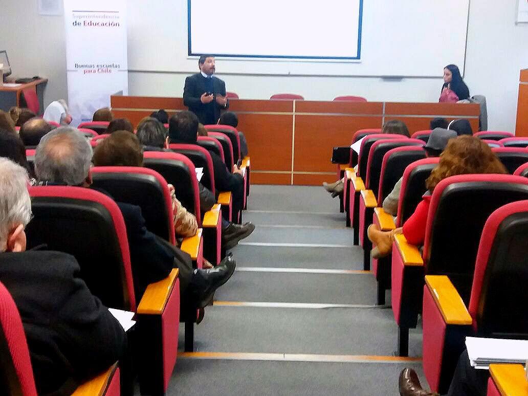 """Colegios Subvencionados y Pagados de Talca participaron en Seminario """"Promoción y Resguardo de Derechos Educacionales"""""""