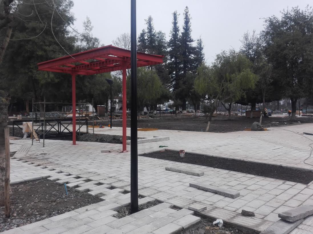 Alcalde de la comuna de Retiro anuncia el inicio del hermoseamiento de la Avenida Errázuriz
