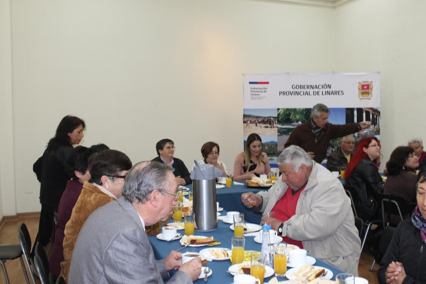 Destacan labor de los dirigentes sociales y territoriales en el desarrollo de la Provincia de Linares