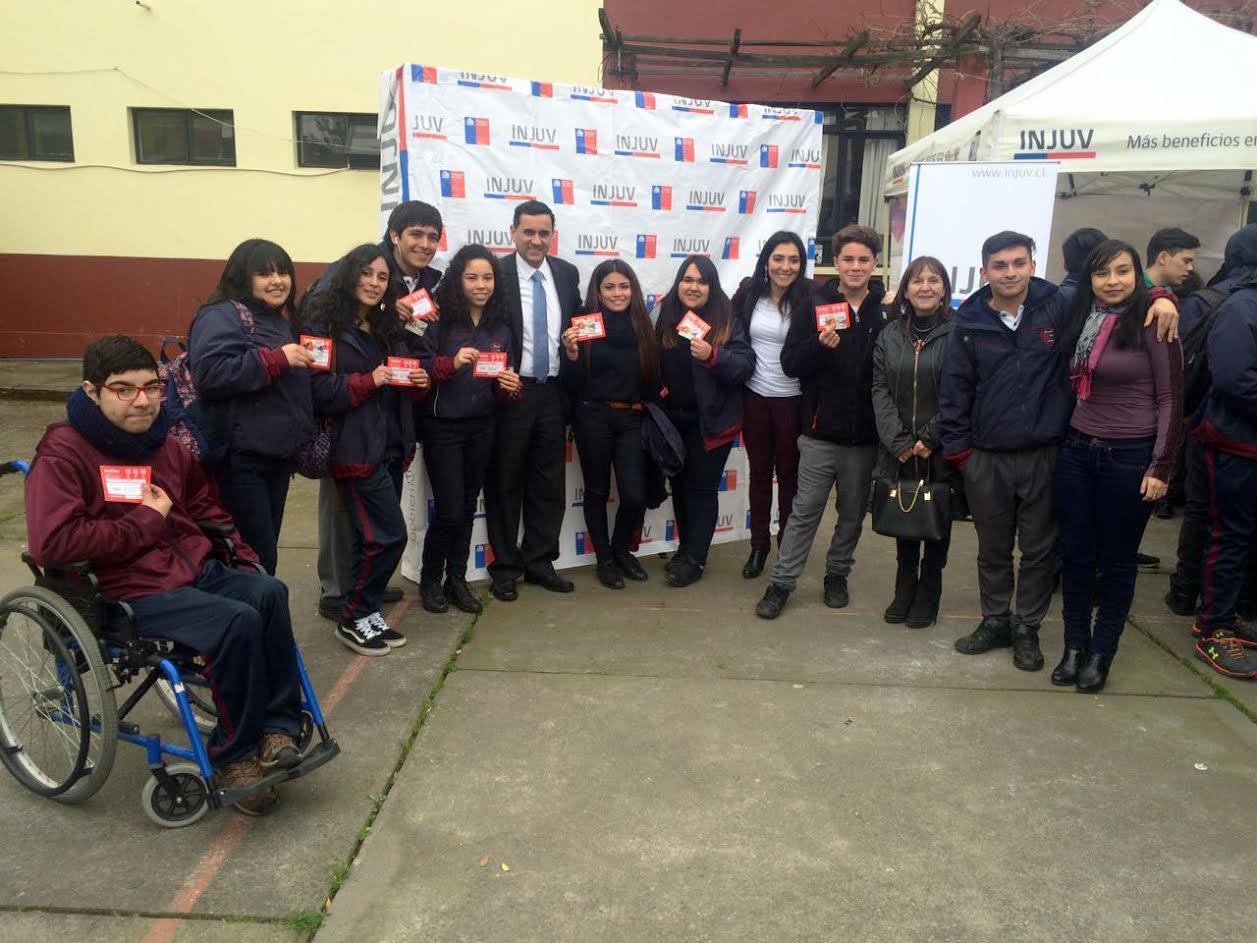 Injuv Maule lanzó el Mes de la Juventud en la provincia de Curicó prometiendo entretenidas actividades