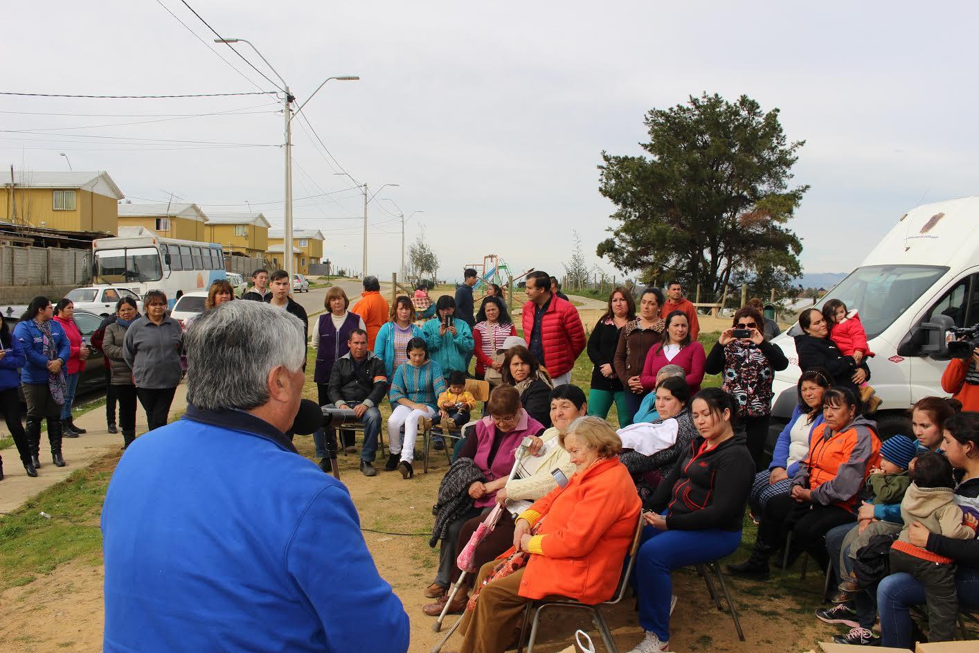 Operativos municipales llegaron a Quella y a villa Alto del Río