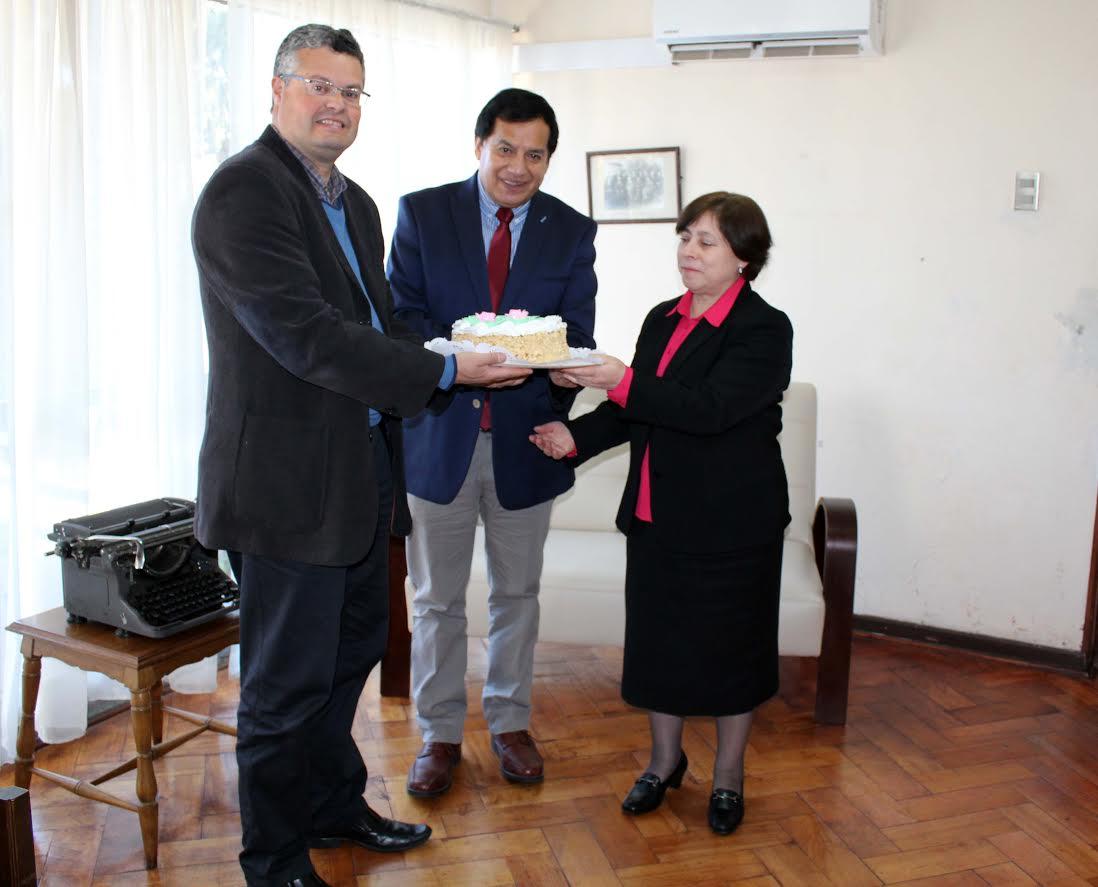 Alcalde Rentería saluda a diario El Heraldo en su aniversario Nº 79