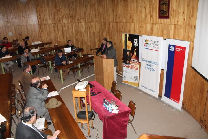 Seminario destacó los usos positivos de la biomasa para la calefacción urbana