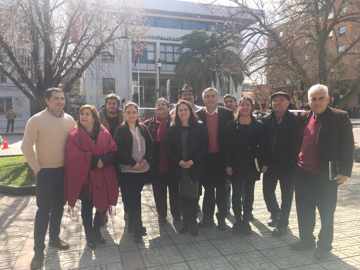 Postulantes al Concejo Municipal reciben apoyo de única mujer candidata a alcalde por Talca
