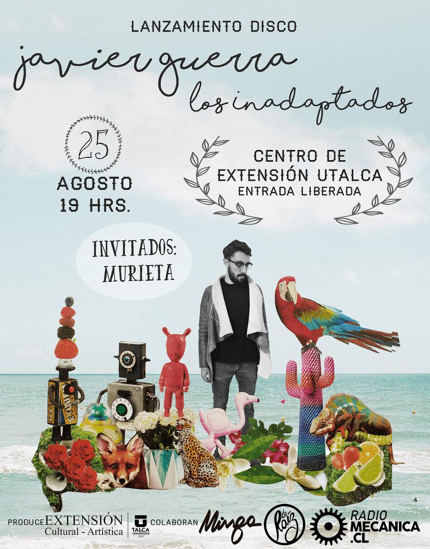 """Lanzamiento disco """"Los inadaptados"""" de Javier Guerra"""