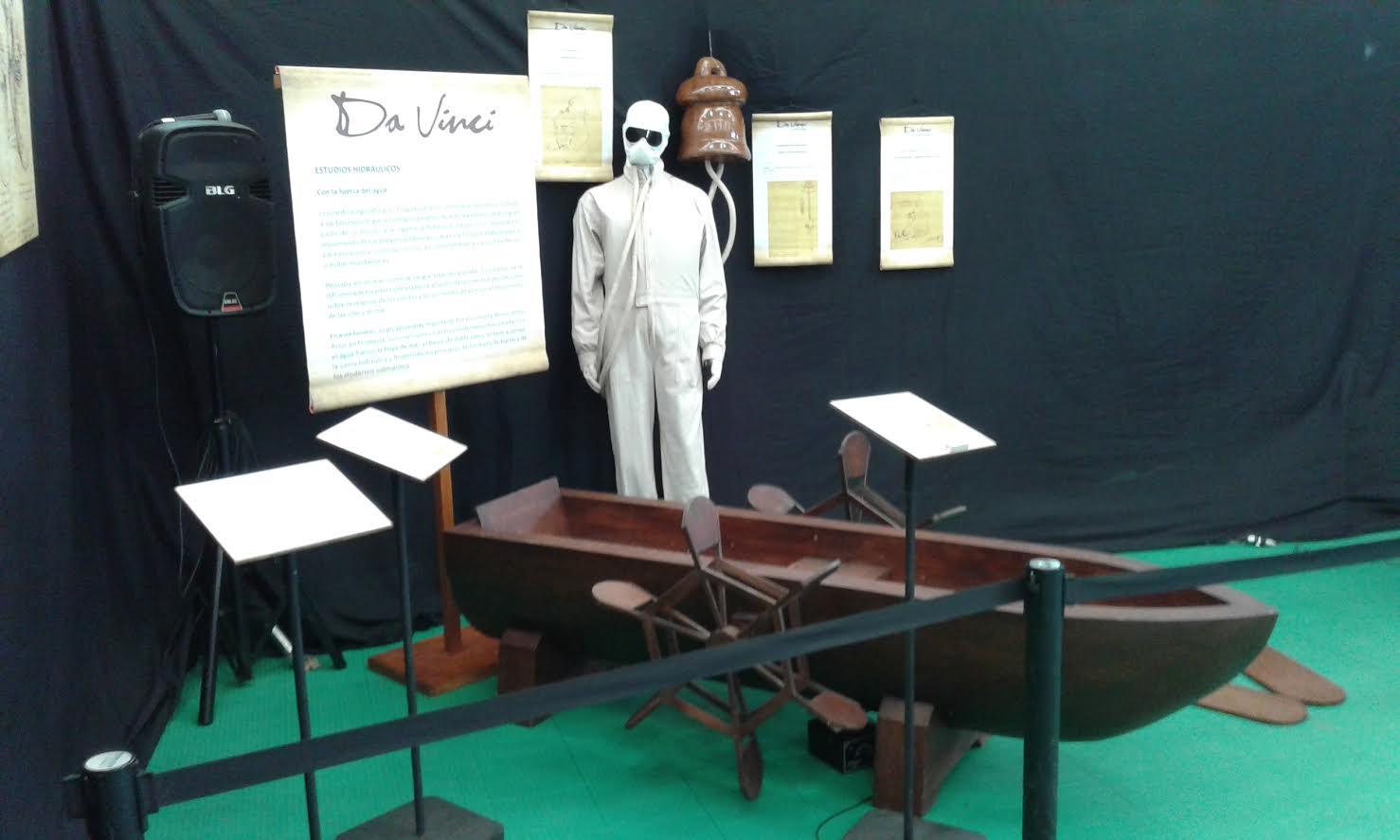 """Últimos días de """"Da Vinci La Exhibición"""" en Talca"""