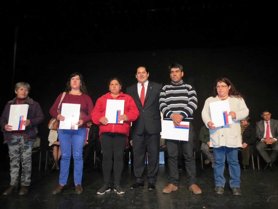 Cerca de 300 familias de San Clementerecibieron subsidios para mejorar sus hogares