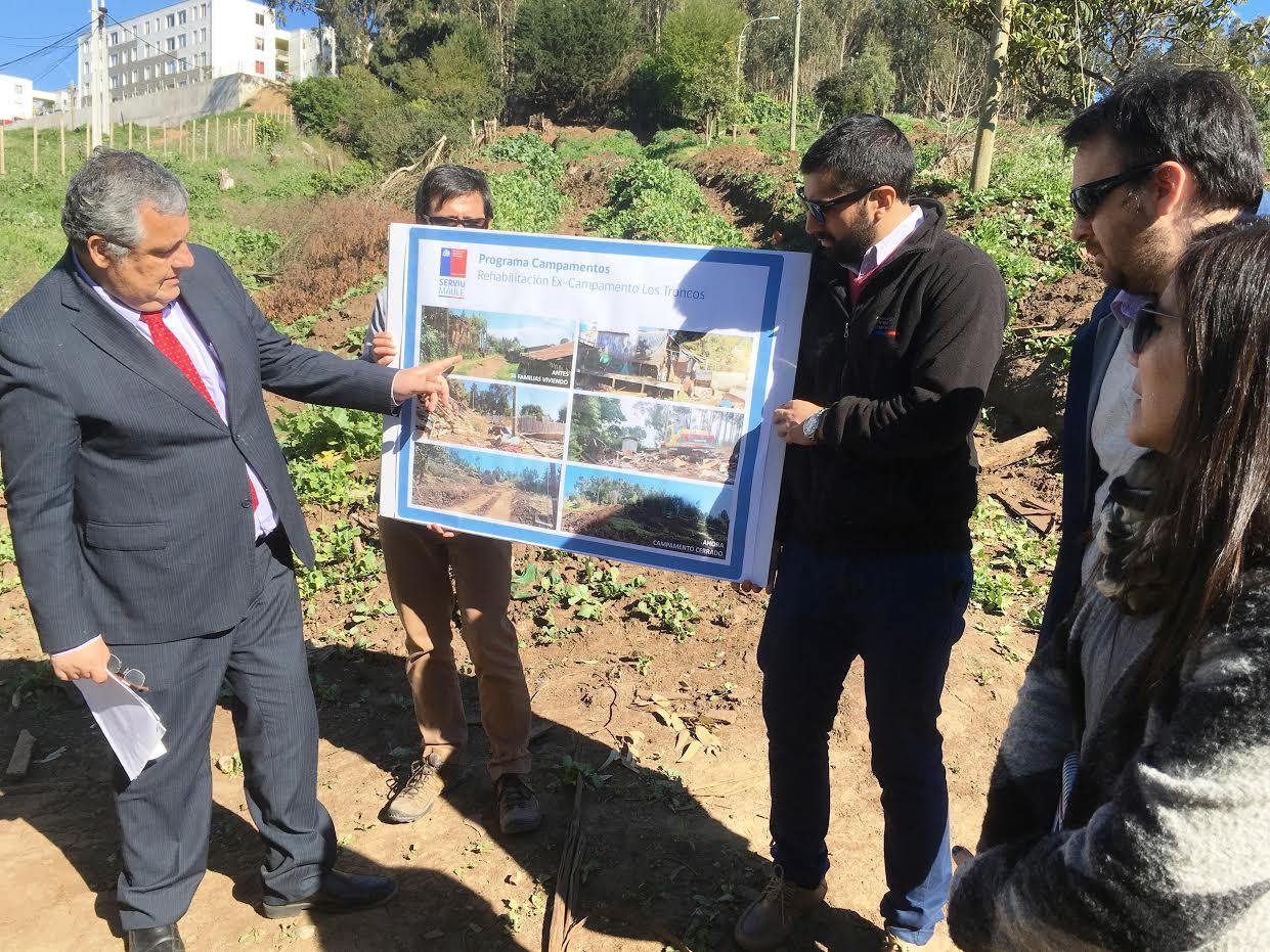 Terreno de ex Campamento Los Troncos en Constitución, dará paso a Parque recreacional y jardín Infantil