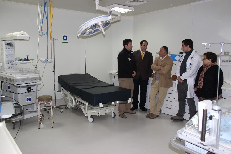 Director del Servicio de Salud Maule visitó Hospital Chileno Japonés de Hualañé