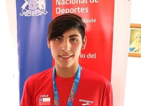 Alumno cauquenino compite en Juegos Sudamericanos Escolares 2016