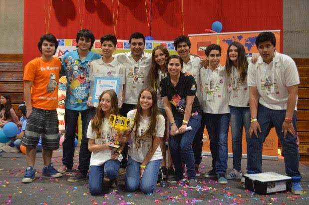 Colegio San Jorge gana Nacional de Robótica y parte al mundial en USA