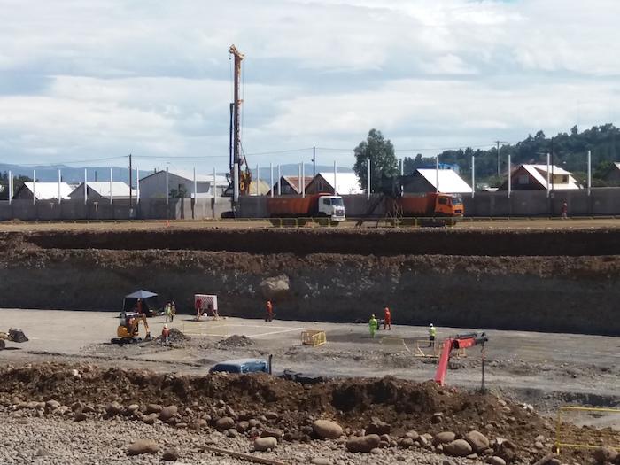 Arquitectura del  MOP avanza en la construcción del Hospital de Curicó