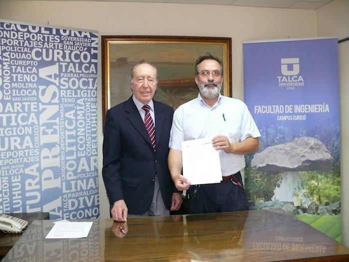 Facultad de Ingeniería de la Universidad de Talca firmó convenio con Diario La Prensa