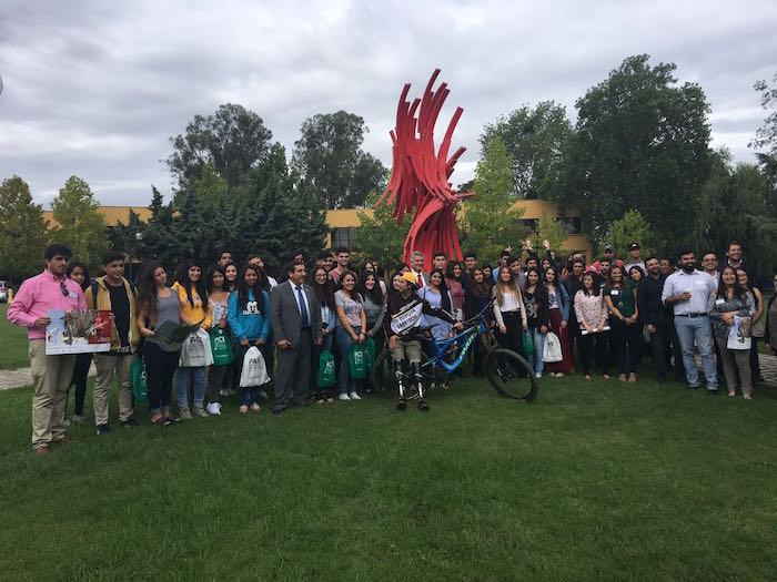 Alumnos Pace son recibidos por autoridades en Universidad de Talca