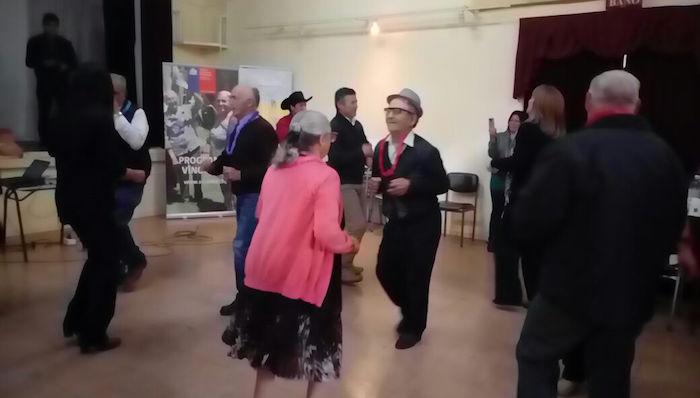 """Con """"Gran Malón"""" adultos mayores del Maule recibieron a nuevos beneficiarios del programa vínculos"""