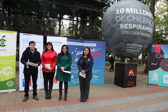 Comienza tercer período de Alertas Sanitarias Ambientales en Curicó