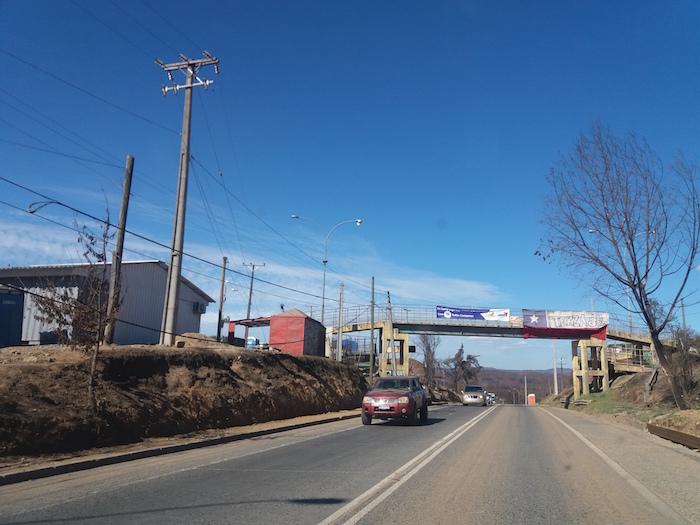 MOP anuncia corte parcial de tránsito en ruta San Javier Constitución por montaje de pasarela