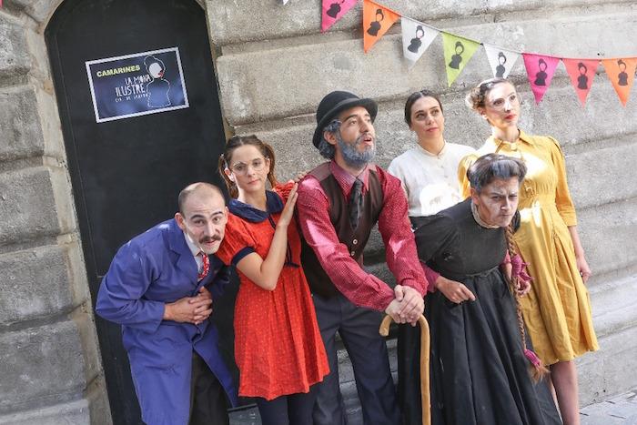 Compañía La Mona Ilustre llega al Maule en su gira Teatro Itinerante 2017