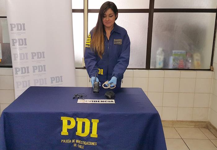 PDI Talca detiene a sujeto que fingía ser carabinero en la plaza Arturo Prat