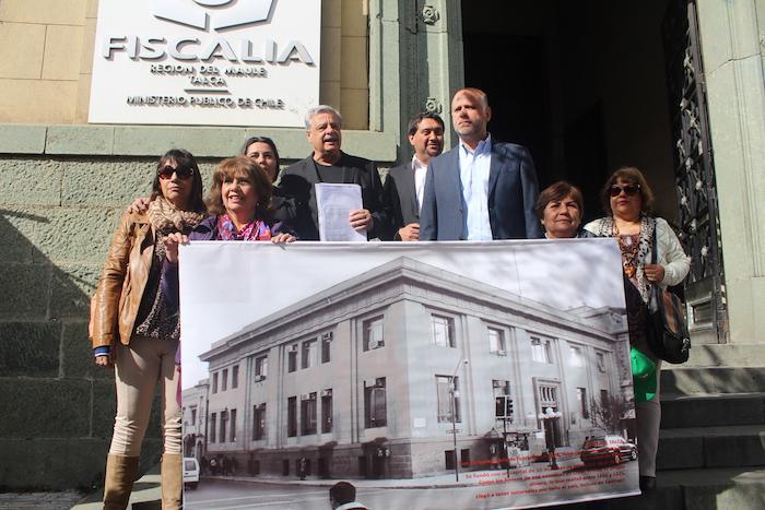 Denuncian responsabilidad de Piñera  en desaparición del Banco de Talca