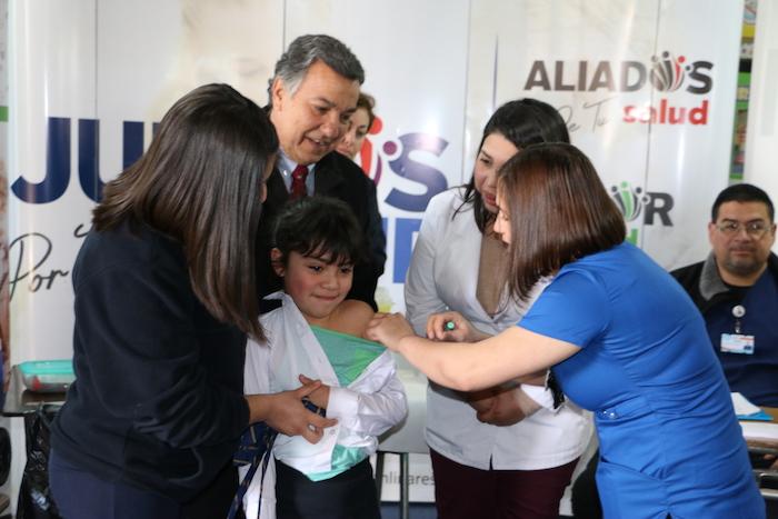 Seremi de Salud refuerza vacunación contra Virus Papiloma Humano