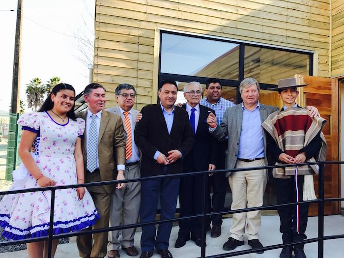 Moderno Centro de Acondicionamiento Físico fue inaugurado en Licantén