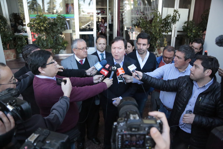 Alcalde de Talca desmiente titular publicado por medios locales