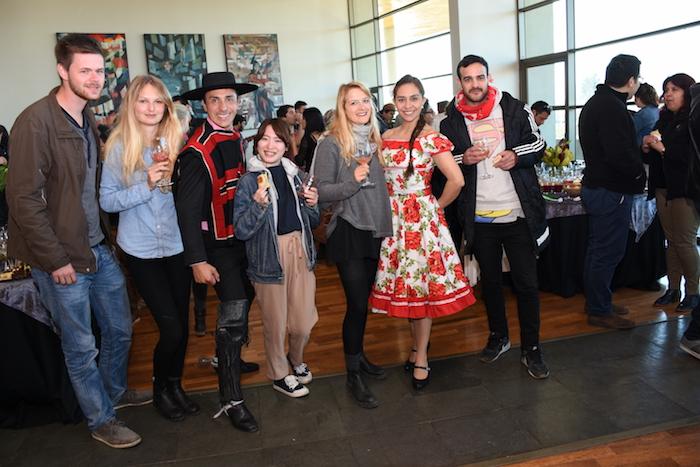 Universidad de Talca dio la bienvenida a sus más de 50 estudiantes extranjeros