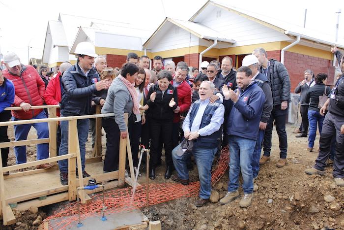 Alcalde de Constitución califica de positiva la primera entrega de casas en la nueva Santa Olga