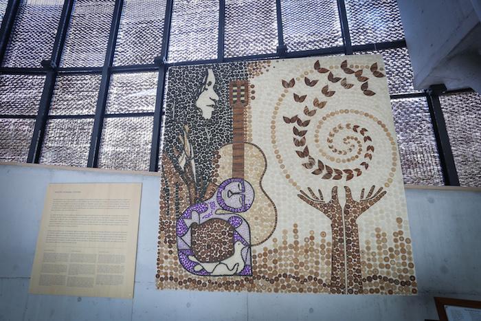 Primera obra colectiva de artesanas de Rari se exhibirá en Museo Violeta Parra