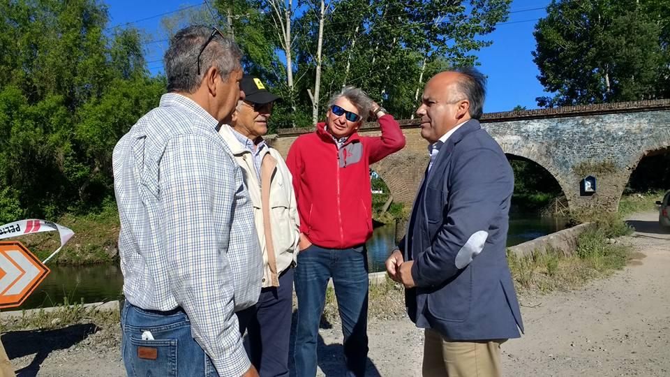 Municipalidad de Retiro logra gestionar reparación y pronta reconstrucción del puente Piguchen camino a Maitenes