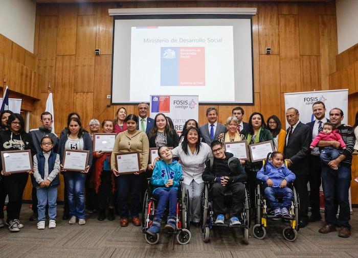 Gobierno apoya a familias y pacientes Teletón para iniciar o fortalecer sus emprendimientos