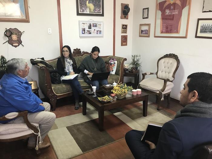 Municipalidad de Cauquenes y Techo para Chile trabajan proyecto de viviendas definitivas
