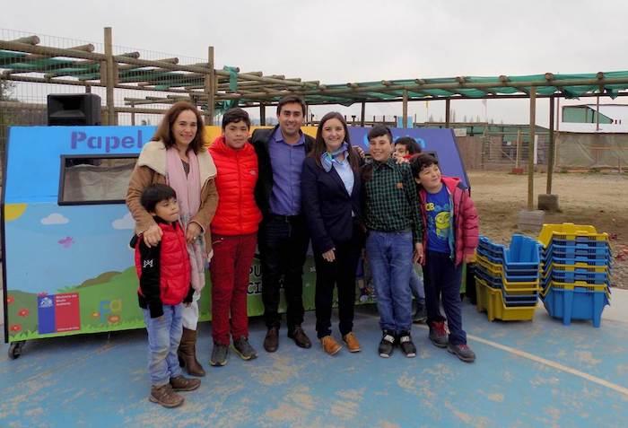 Comienza proyecto del Fondo de Protección Ambiental en establecimiento educacional de Curicó